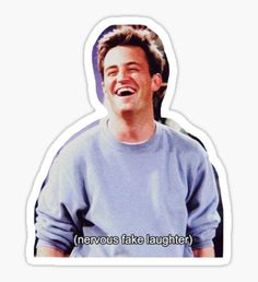 Chandler Bing Friends TV Sticker