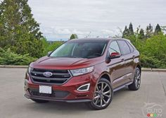 """""""Check out the new 2016 #Ford #Edge Sport."""""""