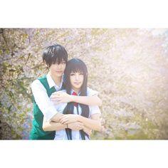 Sawako and Kazehaya from Kimi ni todoke