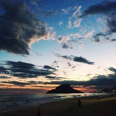 Instagram: @cynthiaolguinn  Por do Sol - Rio de Janeiro, Brasil #sunset #photo #photography #photographer