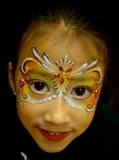 Bling Mask  - artist Marcela Murad face painting