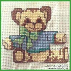 Výšivka Bear Hug