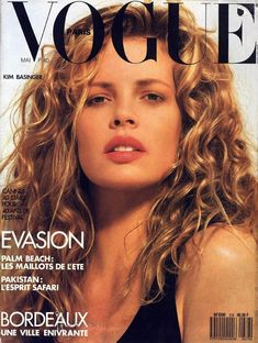 "May 1987 — ""Vogue Paris"" — Kim Basinger shot by Herb Ritts. Lauren Bacall, Lauren Hutton, High Fashion Photography, Glamour Photography, Editorial Photography, Lifestyle Photography, Modeling Photography, Isabelle Adjani, Bert Stern"