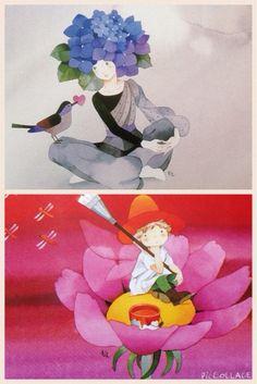 永田萌 Tinkerbell, Watercolor Art, Disney Characters, Fictional Characters, Japanese, Drawings, Painting, Inspiration, Image