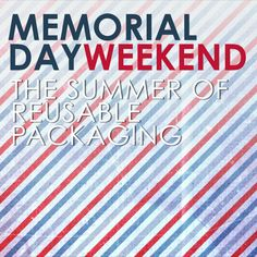 Happy Memorial Day Weekend from your friends at Prime Line! We are ready to officially kick off Summer and get ready for vacations, day trips, and beach days. With seasonal changes, there are so many ways to incorporate new seasonal materials, treatments and trends into your packaging collection. Use these trends to create unique packaging to fit into your company's brand and everyday life. NEW! on our blog. Packaging News, Happy Memorial Day, Beach Day, Day Trips, Vacations, Memories, Trends, Create, Fit