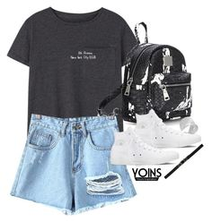 """""""yoins #37"""" by sophiasstyle ❤ liked on Polyvore featuring MANGO, Converse, Ralph Lauren, yoins, yoinscollection and loveyoins"""