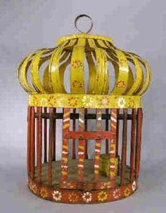 Gypsy Bird Cage Country French