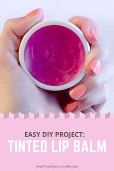 This easy tinted lip balm DIY is a great way to rework your least favourite lipsticks into something you'll want to wear EVERY DAY! - June 29 2019 at Diy Lip Balm, Tinted Lip Balm, Lip Tint, Lip Gloss Homemade, Diy Lip Gloss, Best Beauty Tips, Diy Beauty, Beauty Advice, Beauty Hacks Eyelashes