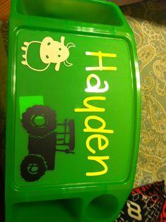 (Boys) kids activity tray $15