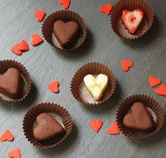 super CUTE fruit chocolates.