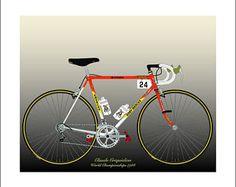 Claude Criquielion's 1988 World Championships Hitachi Bike