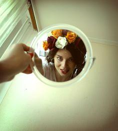 hand made flower headband by myself Flower Power, Polaroid Film, Ice Cream, Passion, My Style, Flowers, Projects, Handmade, No Churn Ice Cream