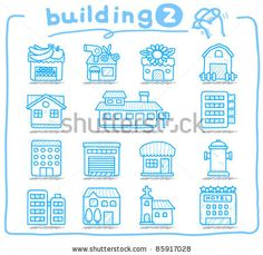 Pure series   hand drawn european houses, buildings,store ,travel icons, by Ziven, via Shutterstock Travel Icon, European House, Travel Scrapbook, Pen And Paper, Freshman, How To Draw Hands, Royalty Free Stock Photos, Doodles, Bullet Journal