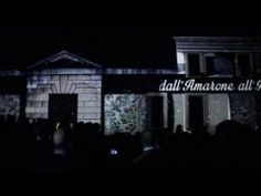From Amarone to Art! An amazing 3D video mapping show at Villa Della Torre.   #art #architecture, #tech #visual