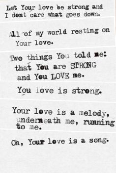 Your Love Is Strong Jon Foreman Lyrics : strong, foreman, lyrics, Switchfoot!!!, Ideas, Switchfoot,, Switchfoot, Lyrics,, Lyrics