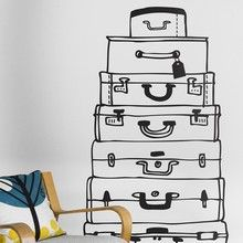 Wallstickers to decorate your interior. Make every day a holiday with this Firm Living cases.