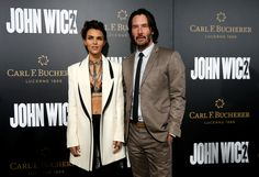Keanu Reeves and Ruby Rose - 'John Wick Chapter 2' premiere in Los Angeles on January 30
