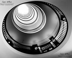 Spiral staircase Copenhagen