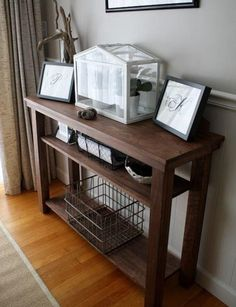 Side tables are handy to have in any room in the house for storing your belongings. Instead of splurging on one at the store, follow this tutorial to learn How to build a Side Table.
