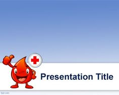 Hematology PowerPoint template is a free medical template for PowerPoint presentations with a blood icon image or blood illustration that you can download to decorate your blood donate presentations