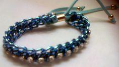 azul y cristal