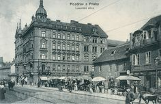 Lazarská Street, Prague