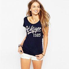 Street Fashion Slim Summer Basic t shirt Women 2017 New Letter Print Casual Slim Women Tops T-Shirts Plus Size T shirts 60035