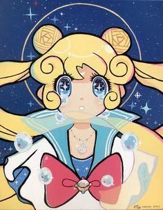 Sailor Moon art / tumblr