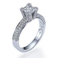 2.12 Carat G-H / VS2 Round Cut Diamond Solitaire 18k White Gold Engagement Ring (Jewelry)  http://www.1-in-30.com/crt.php?p=B0026N5KEA  B0026N5KEA