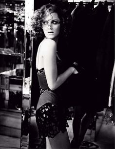 Photographs were taken by Ellen von Unwerth of actress Marion Cotillard. Some featured in Tatler RU and others in Elle France 2010.