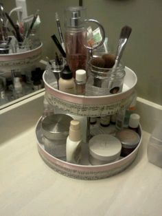 Make Up Caddy Diy