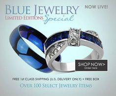 Get Up To 40% Off Limited Edition Blue Rings Special + Free Shipping + Free Box Check Them Out Here #BuyBlueSteel