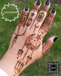 42 Ideas Nails Design Natural Short For 2019 Henna Hand Designs, Eid Mehndi Designs, Latest Mehndi Designs, Mehndi Designs Finger, Stylish Mehndi Designs, Mehndi Designs For Fingers, Wedding Mehndi Designs, Mehndi Design Pictures, Beautiful Henna Designs