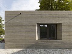 max dudler / simone boldrin leading architect, project manager / besucher informations zentrum, sparrenburg / photograph stefan müller