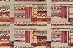 Inspirational: The Textile Design Work of Jacqueline Groag Textile Patterns, Textile Prints, Print Patterns, Fabric Design, Pattern Design, Textile Courses, Creative Textiles, French Fabric, Brocade Fabric