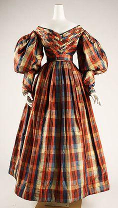 Dress Date: ca. 1830 Culture: British Medium: silk Accession Number: 1971.47.1a, b