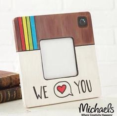 We've put together 2 dozen of the coolest, most thoughtful, fairly easy DIY Father's Day gifts from art to crafts to printables and beyond. Diy Father's Day Gifts, Father's Day Diy, Craft Gifts, Frame Crafts, Wood Crafts, Crackpot Café, Paint Your Own Pottery, Instagram Frame, Instagram Party