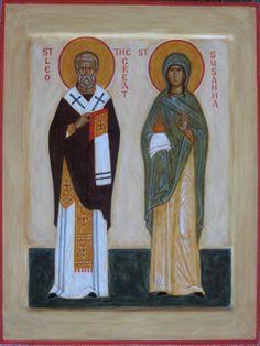 Susanna by Ann Margitich St P, Byzantine Art, Orthodox Christianity, Orthodox Icons, The St, Saints, Objects, Spirituality, Painting