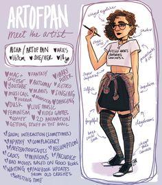 Meet the Artist by artofpan on DeviantArt