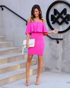 I have found the perfect wedding guest dress for all of you ladies that is under $50  And don't worry, if hot pink isn't your thing, it…