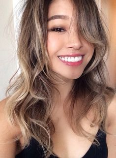 Image result for asian hair styles brown ombre