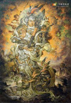 韦驮菩萨圣像【有缘见者增福延寿】 - 福慧无量 - 福慧无量的博客