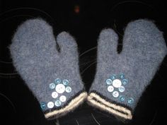 Mittens from old sweaters - seems easy enough!