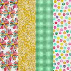 Free Sunny Days Paper Pack from Harper Finch