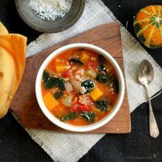 Harvest Vegetable Soup by tastefoodblog #Soup #Vegetable