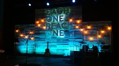 Lights dropped out fromArlington Countryside Church (ACC)inArlington Heights, IL | Church Stage Design Ideas