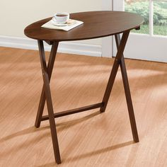 Folding tables and tables on pinterest for Ikea snack table