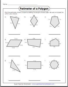 Volume Of T Zoidal Prism Worksheet