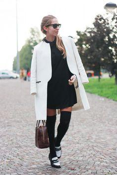 #fashion #fashionista @Barbie Laura parigine e mocassini outfit