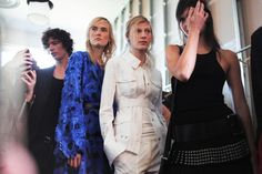 V MAGAZINE / BACKSTAGE: MICHAEL KORS S/S '16